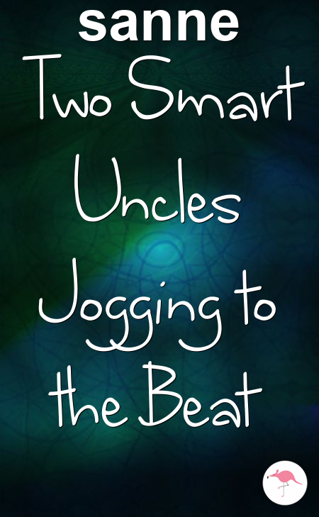 Two Smart Uncles Jogging to the Beat